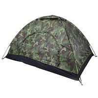 Палатка камуфлированная туристическая 2*1.5*1.1м