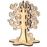 """Деревянная разукрашка 3D """"Дерево желаний"""", Зірка, фото 1"""