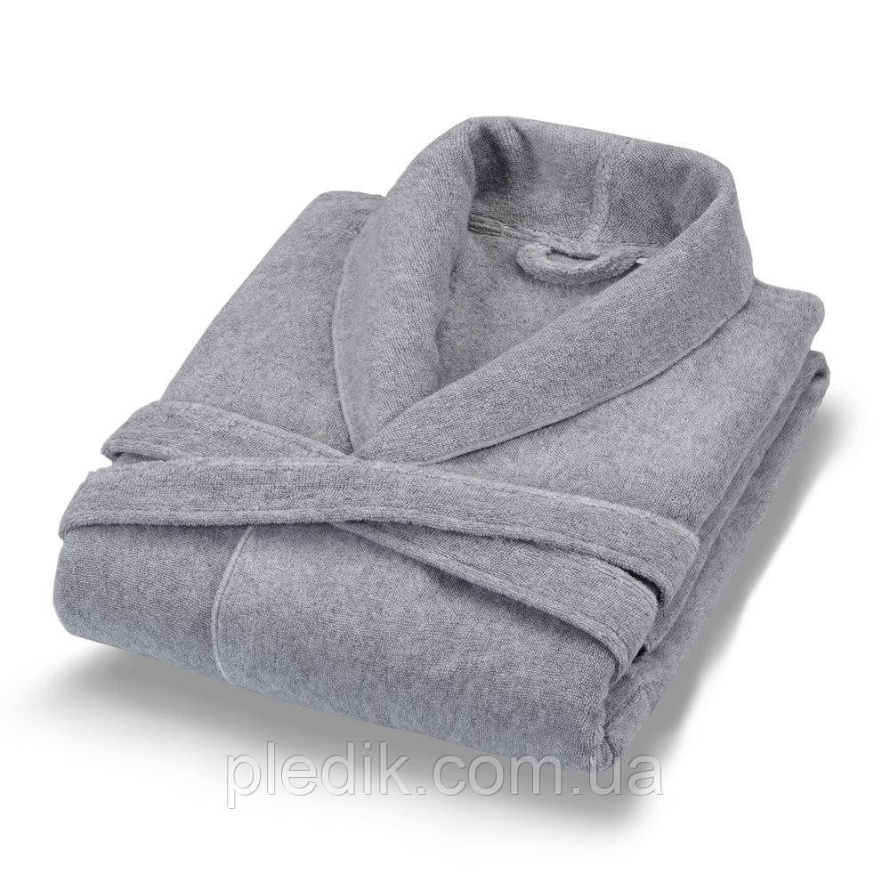 Махровый халат POEM Casual Avenue GRAY серый р.L/XL