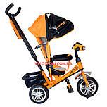 Детский трехколесный велосипед Crosser One T-1 оранжевый