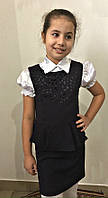 Стильный детский сарафан Новинка , фото 1