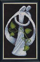 """Набор для вышивания крестом ТМ Золотое Руно """"Супружество. Линия жизни """" ЛЖ-004"""