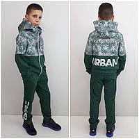 Стильный спортивный костюм URBAN зеленый, фото 1