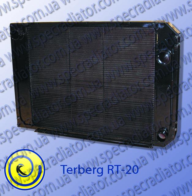 Радиатор  водяного охлаждения портового тягача TERBERG