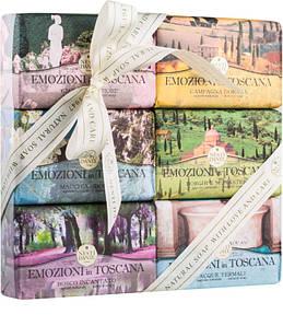 Подарочный набор Nesti Dante Эмоции в Тоскане 150г*6шт Emozioni in Toscana. Подарок любимой.