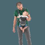 Ерго рюкзак Chicco Go Baby сірий, фото 3