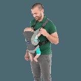 Ерго рюкзак Chicco Go Baby сірий, фото 4