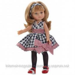 Кукла в клетчатом Карла подружка Paola Reina