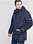 Мужские куртки зимние недорогие   48-58 синяя, фото 2