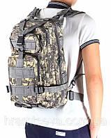 Тактический рюкзак, штурмовой Abrams. Городской рюкзак на 25 литров., фото 1