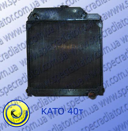 Радиатор системы охлаждения двигателя подъёмного крана  КАТО, фото 2