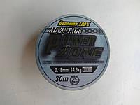Шнур Power Zone Dyneema 30м 0.18