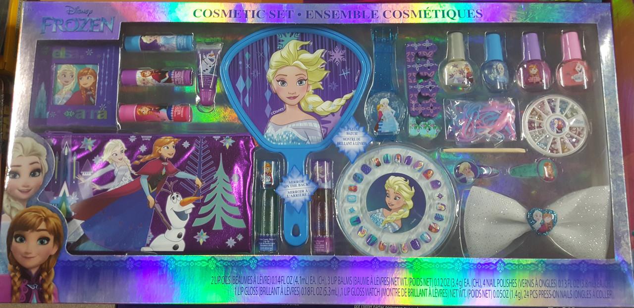 """Подарочный набор детской косметики """"Холодное сердце"""" Disney's Frozen Cosmetic Set, оригинал из США"""