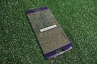 Защитное стекло Samsung S7 edge Полное покрытие Синее Full Screen 3D