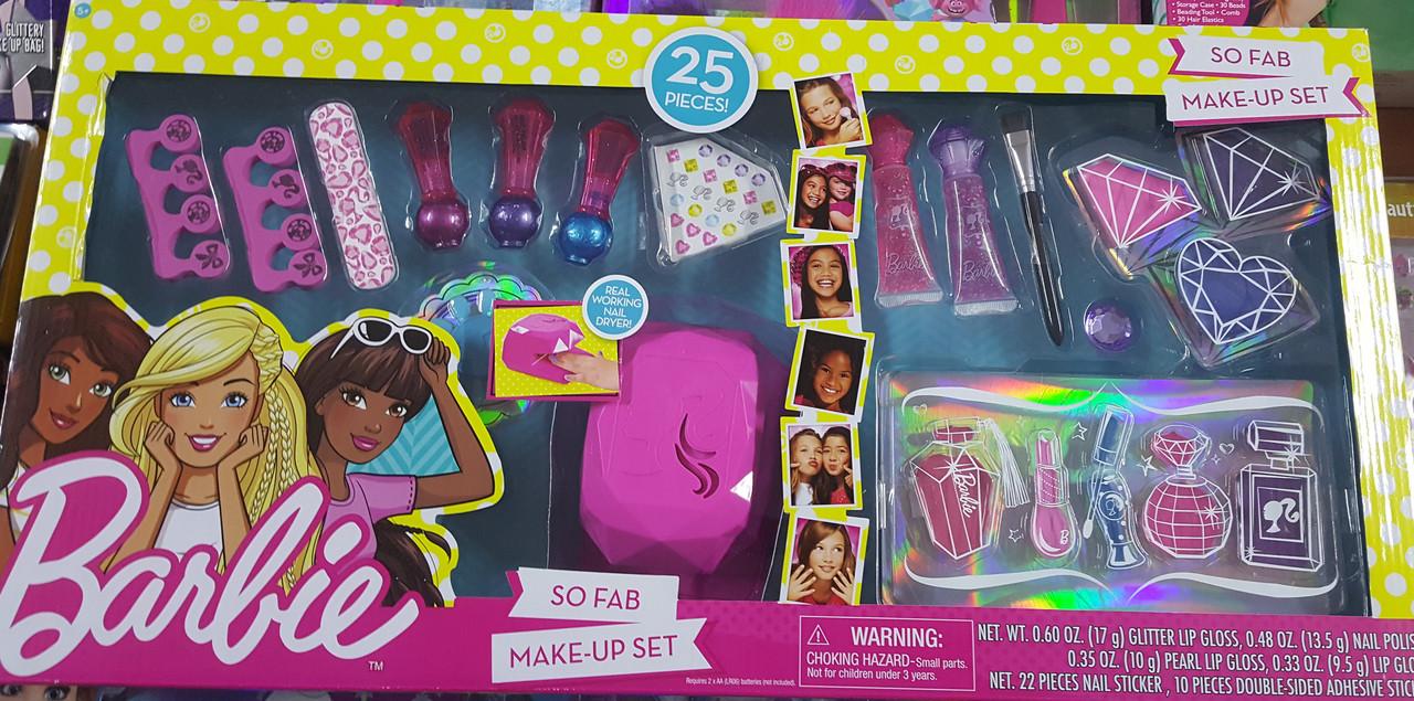Подарочный набор косметики Барби 25 предметов! Barbie Deluxe Make Up Set Оригинал из США