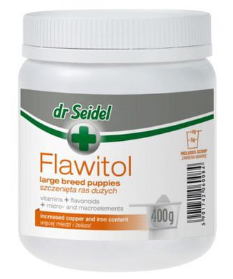 ФЛАВИТОЛ Доктора Зейделя FLAWITOL Dr.Seidel витаминный порошок для щенков крупных пород 400 гр