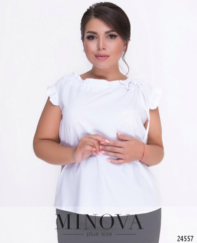 ad44d8897dc Романтичная блуза прямого кроя большого размера недорого в интернет  магазине Украина Россия СНГ р. 52