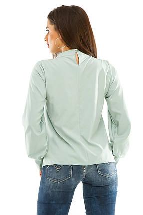 Блузка 279  оливковая, фото 2
