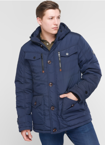 Куртку парку зимнюю мужскую  от производителя  48-56 синий