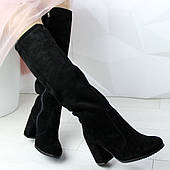 Женские замшевые сапоги 37 размер
