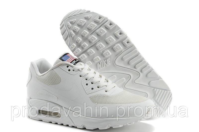 7d52990c Женские кроссовки Nike Air Max 90 Hyperfuse USA Flag. кроссовки белые  женские