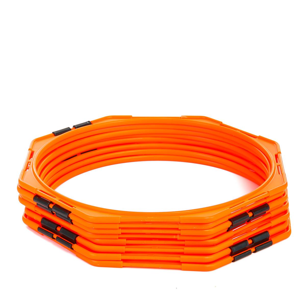 Кольца многофункциональные тренировочные (комплект 8 шт) + сумка