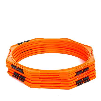 Кольца многофункциональные тренировочные (комплект 8 шт) + сумка, фото 2