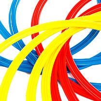 Кольца тренировочные (комплект 12 шт, 3 цвета, 40см) + сумка, фото 3