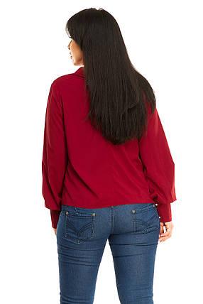 Блузка 5279  бордо, фото 2