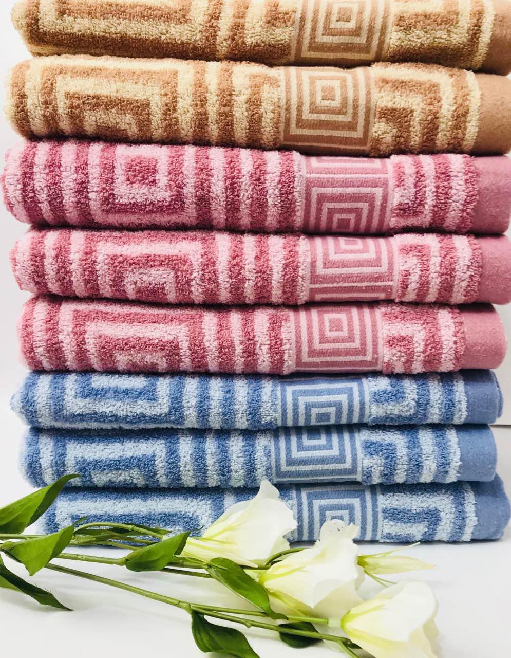 Махровое полотенце  Баня 140 на 70 см Хлопок Плотное