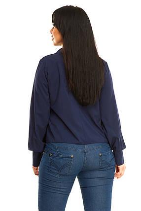 Блузка 5279  темно-синий, фото 2