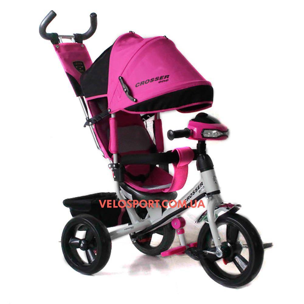 Детский трехколесный велосипед Crosser T-1 EVA