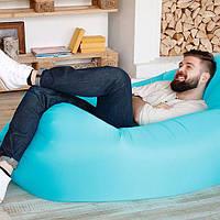 LAMZAK надувной портативный диван-шезлонг, гамак, надувной гамак, ламзак, надувной матрас, ламзак для моря, фото 1