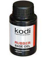 Базовое покрытие 30 мл KODI Rubber Base Gel на гель лак, для наращивания ногтей База коди MIR \ 021