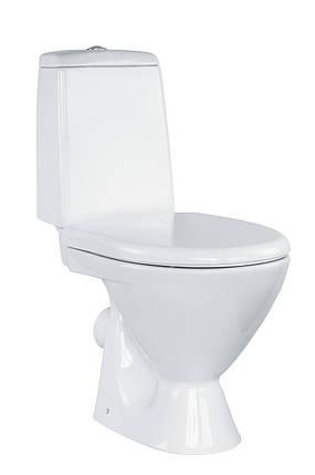 Унітаз Cersanit ARKTIK 011 з дюропластовим вільнопадаючим сидінням, фото 2