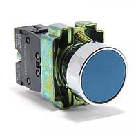 Кнопка NP2-BA64 металл 2NC AC 6V-230V синяя