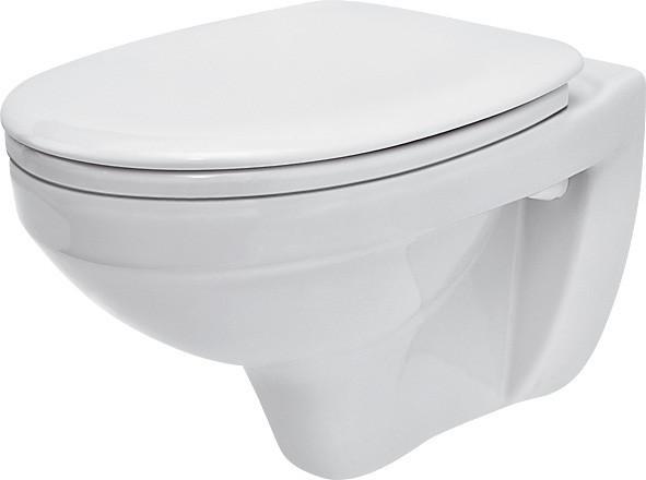 Унітаз підвісний Cersanit DELFI з поліпропіленовим сидінням