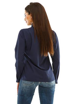 Блузка 278 темно-синий, фото 2