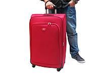 Легкий чемодан из ткани большого размера на 4-х колесах David Jones 2000-4, фото 1