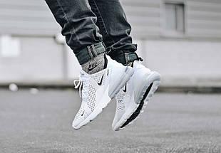 Мужские и женские кроссовки Nike Air Max 270 White, фото 3