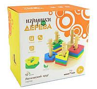 Логический круг, Мир деревянных игрушек