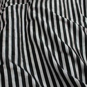 Ткань бархат мрамор принтованный полоска черная с белой