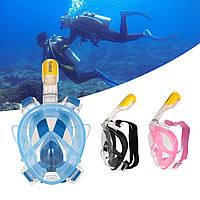 Маска для снорклинга подводного плавания Easybreath, маска на все лицо, TRIBORD/SUBEA, подводная маска , фото 1