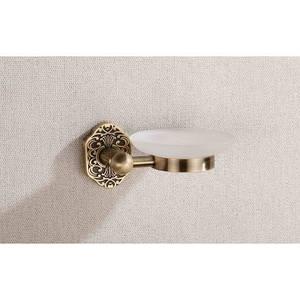 Мильниця підвісна скляна  8601 A (antik brass)