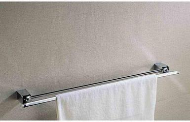 Тримач для рушників подвійний  2709 (chrome plating) 600*95