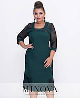 Оригинальное платье большого размера от Минова  - размеры 52,54,56,58). РОЗНИЦА +30грн