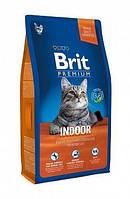 Brit Premium Cat Indoor 8 кг (для кошек, живущих в помещении)