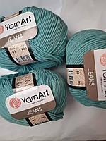 YarnArt Jeans - 81 лазурный