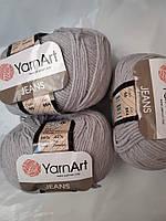 YarnArt Jeans - 80 светло серый