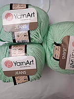 YarnArt Jeans - 79 мятный